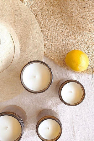 Lemon Haze Soy Candle - 7 oz - MOCO Candles