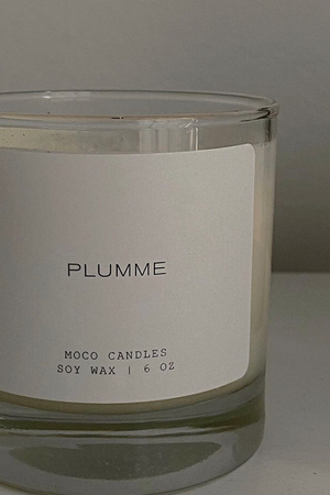 PLUMME Signature Blend Soy Candle - 6 oz - MOCO Candles