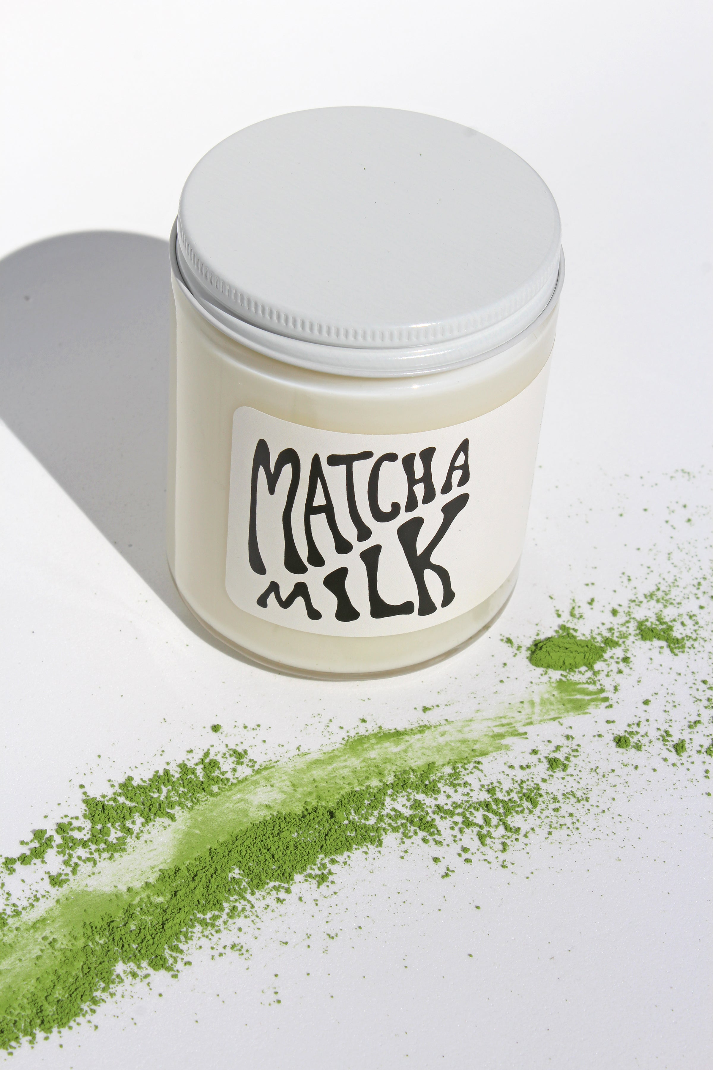 Matcha Milk Soy Candle - 7 oz - MOCO Candles