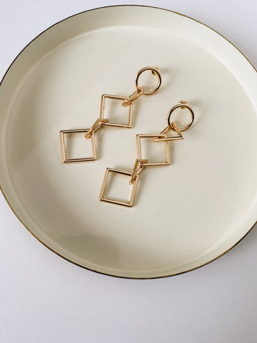 Geometrically Sound earrings