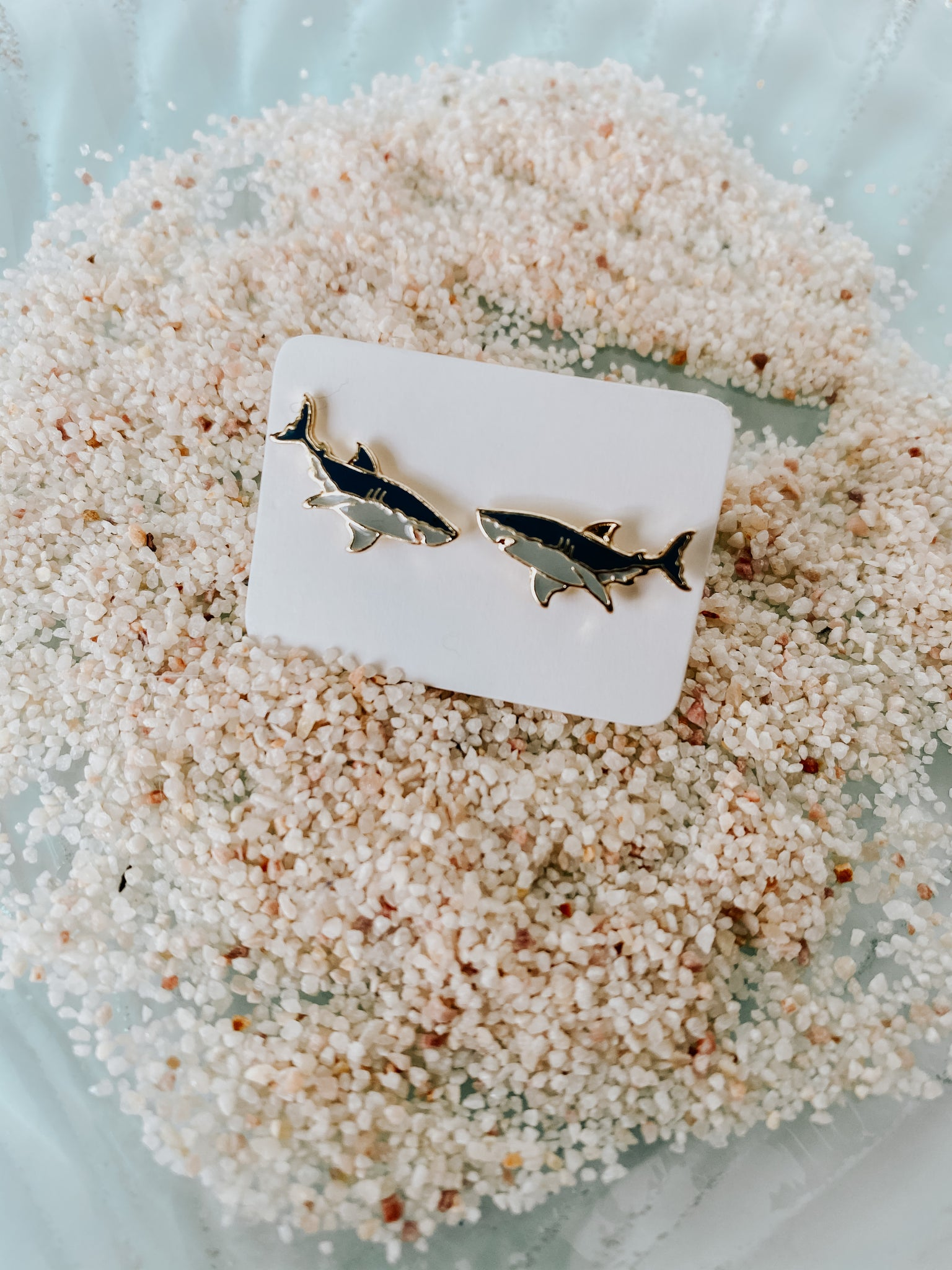 Great White Shark studs