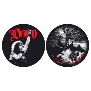 Dio: Holy Diver Turntable Slipmats (Pair)