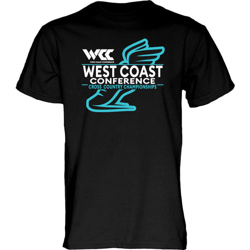 West Coast Conference Cross Country Championships Short Sleeve T-Shirt