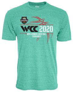 West Coast Conference 2020 West Coast Men's Basketball Tournament Teal Hoodie