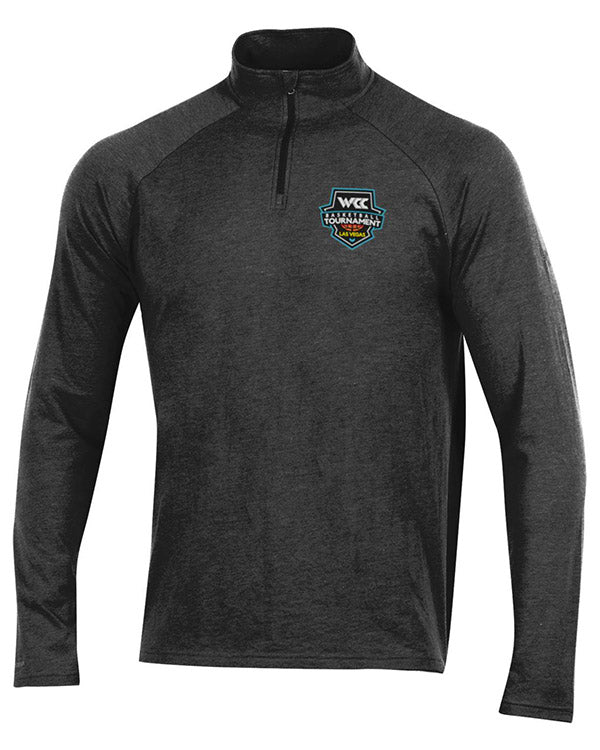 West Coast Conference Under Armour Basketball Tournament Black Half Zip