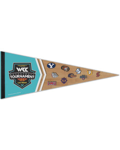 West Coast Conference 2020 Men's Basketball Tournament Pennant