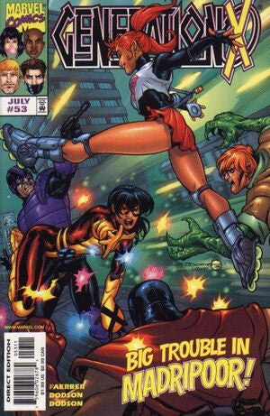 Marvel Comic - Generation X - #53 - Retro Treasure Leeds