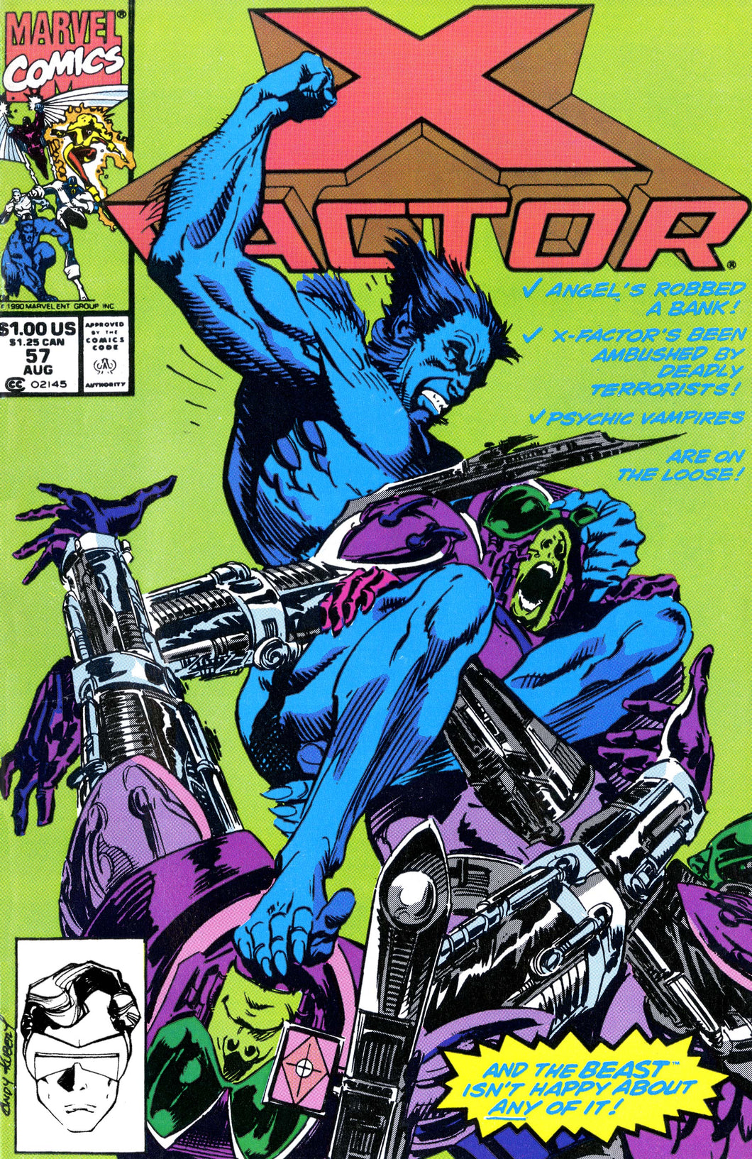 Marvel Comic - X Factor - #57 - Retro Treasure Leeds