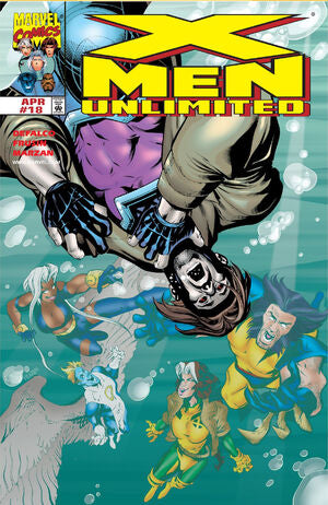 Marvel Comic - X-Men Unlimited - #18 - Retro Treasure Leeds