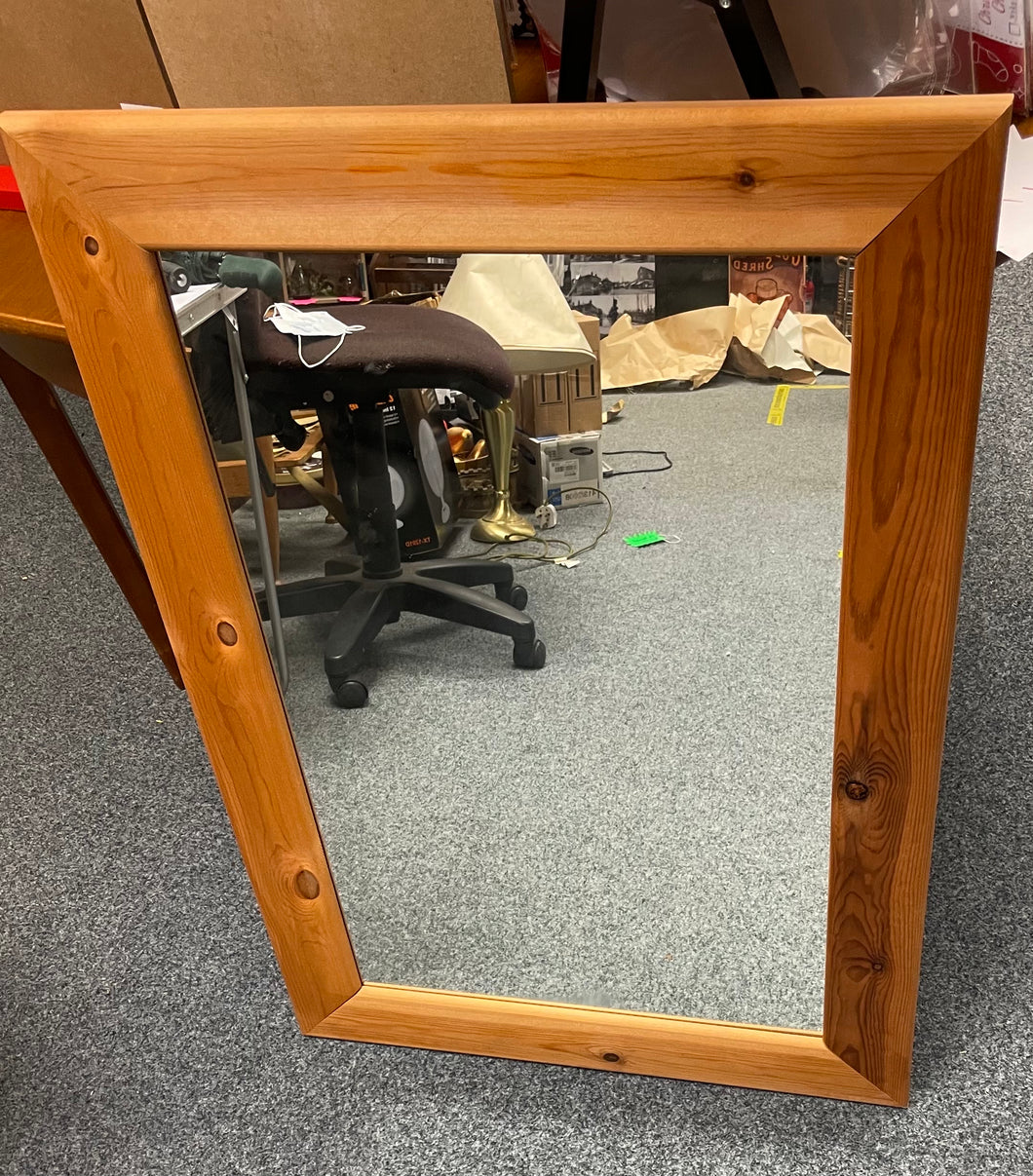 Pine Framed Mirror - Retro Treasure Leeds