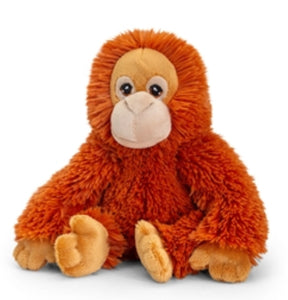 Plush Teddy Made From 100% Recycled Plastic - Orangutan - Retro Treasure Leeds
