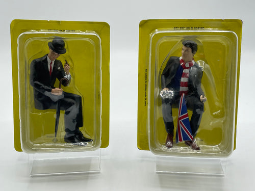 Two rare, boxed Transport for London Commuter Figurines