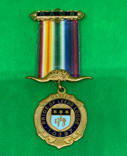 Load image into Gallery viewer, Masonic Pride of Leeds Medal - Retro Treasure Leeds