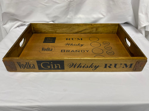 Wooden Drinks Tray Small