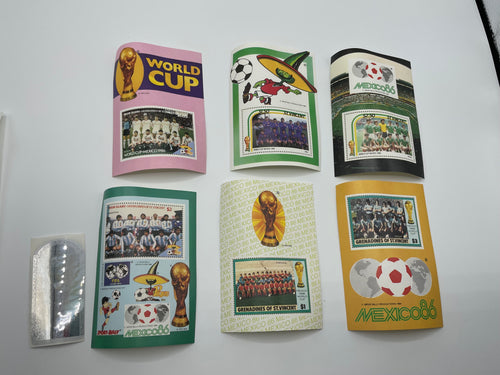 Mexico 1986 World Cups Finals Stamps & Memorabilia