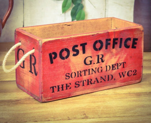 Post Office Sorting Office Box - Retro Treasure Leeds