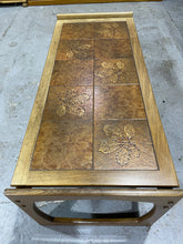 Load image into Gallery viewer, Vintage Tile-Topped Table with Teak surround - Retro Treasure Leeds