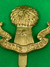 Load image into Gallery viewer, Lothians Horse and Yeomanry Cap Badge - Retro Treasure Leeds