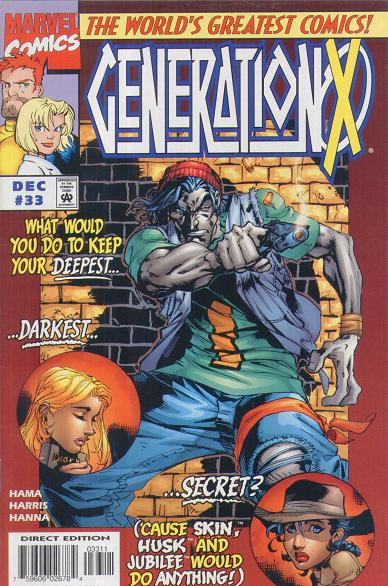 Marvel Comic - Generation X - #33 - Retro Treasure Leeds