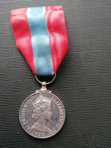 Imperial Service Medal - Retro Treasure Leeds
