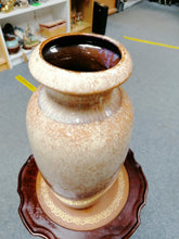 Load image into Gallery viewer, West German Pottery Large Glazed Vase - Retro Treasure Leeds