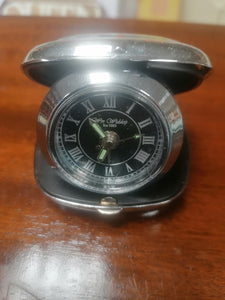 WM Widdop Folding Travel Alarm Clock - Retro Treasure Leeds