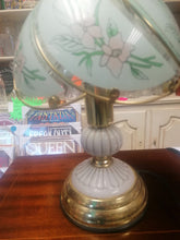 Load image into Gallery viewer, Art Deco Glass Shade Table Lamp - Retro Treasure Leeds