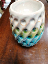 Load image into Gallery viewer, Textured Ceramic Oil Burner - Retro Treasure Leeds