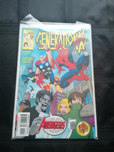 Marvel Comic - Generation X - #59 - Retro Treasure Leeds