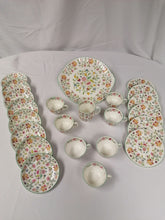 Load image into Gallery viewer, Minton China Afternoon Tea Part Set - Retro Treasure Leeds