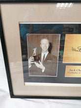 Load image into Gallery viewer, Jack Charlton Framed Autograph