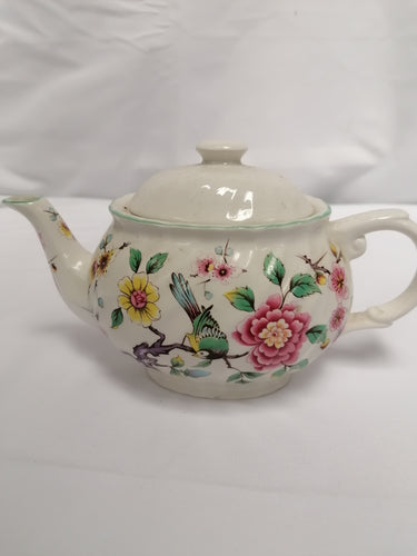 Vintage James Kent Old Foley Chinese Rose Tea Pot