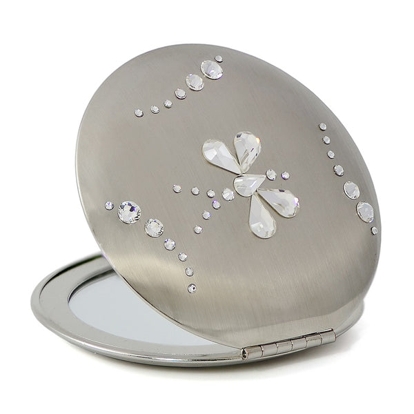 ButterFly Swarovski Compact Mirror - Nail Art Singapore