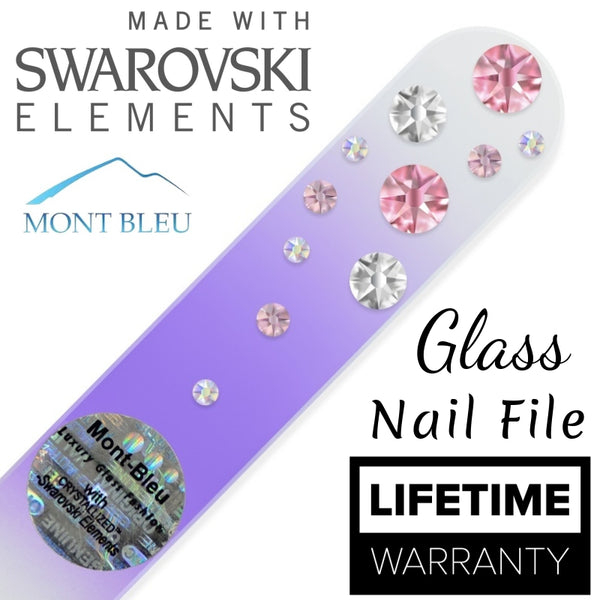 Swarovski Water Fall Color Collection - Nail Art Singapore