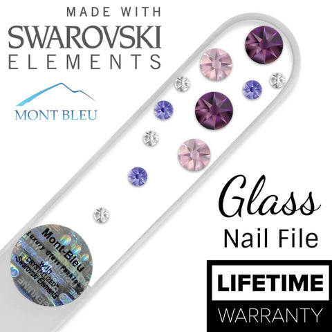 Swarovski Water Fall Clear Collection - Nail Art Singapore