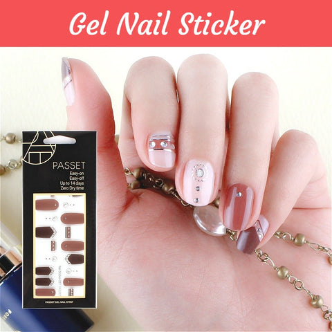 Gel Nail Sticker - Nail Art Singapore