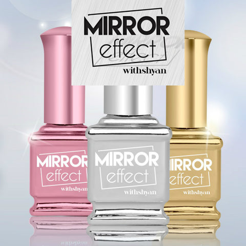 Mirror Effect Nail Polish - Nail Art Singapore