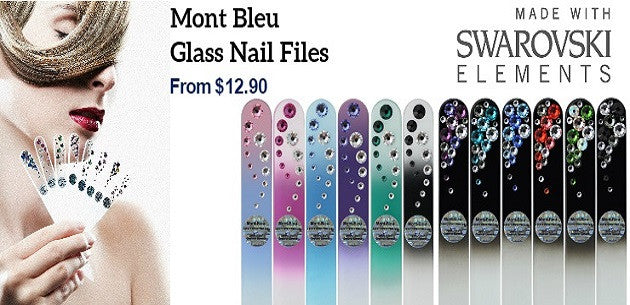 Swarovski Glass Nail Files