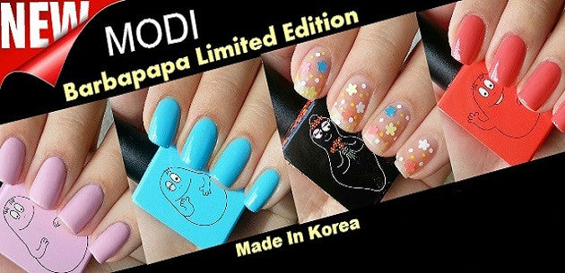 Modi Glam Nail Polishes