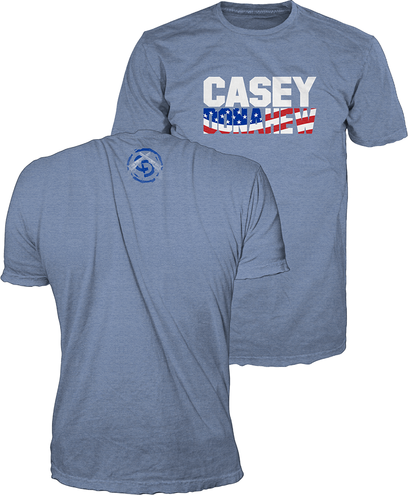 Heather Blue Casey Donahew Tee