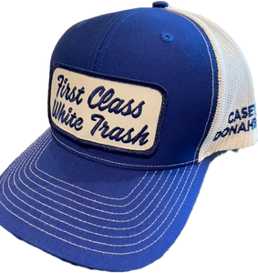 First Class White Trash Blue Hat