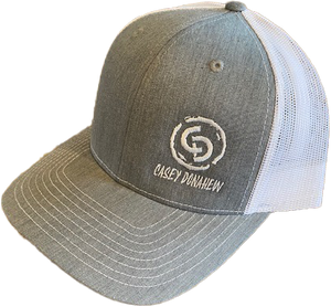 Casey Donahew Grey and White Hat