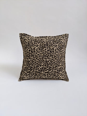 CUSHION COVER - LEOPARD PRINT