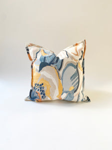 CUSHION COVER - ABSTRACT FLORAL