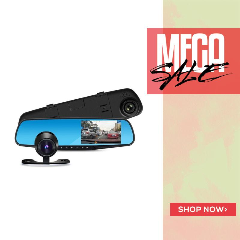 DUAL DASHCAM with REAR CAMERA