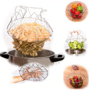 High Quality Multi Purpose Foldable Strainer