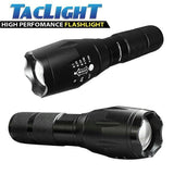 "BUY 1 TAKE 1 PROMO-Military Grade Tactical Flashlight ""TacLight"" w/ RECHARGEABLE BATTERY AND CHARGER"