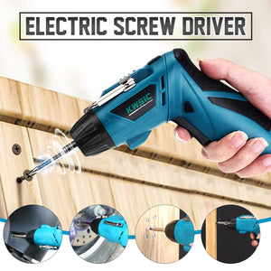 CORDLESS FOLDING ELECTRIC SCREW DRIVER
