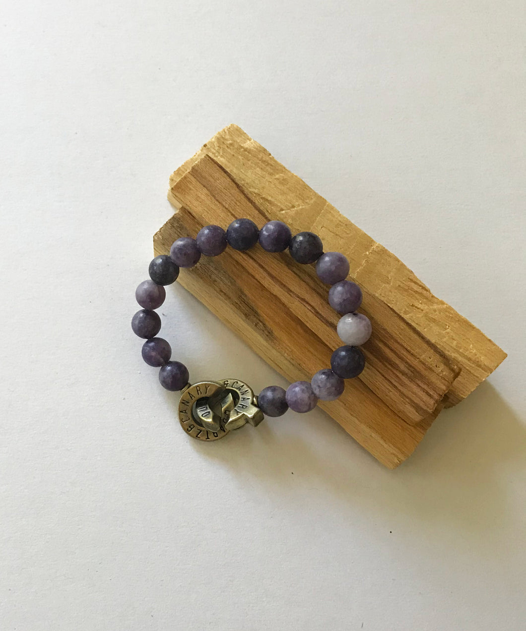 Lepidolite Connected Bracelet