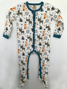 White Forest Onesie